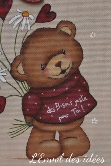 Bear hugs nounours en details