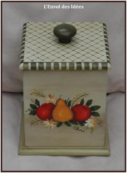 Boîte Fruits du dessus