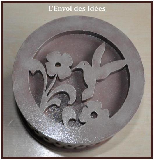 Boîte torsadée Oiseau