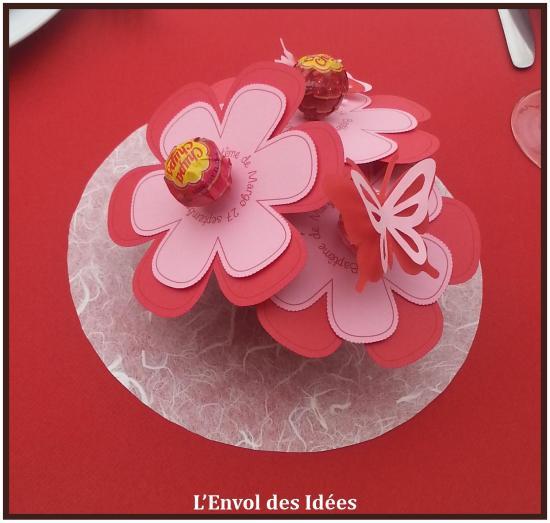 Fleurs milieu de table