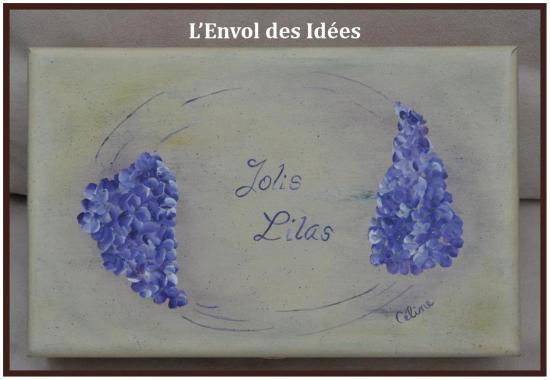 Boîte Jolis Lilas