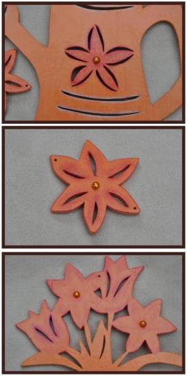 Arrosoir Fleurs détails