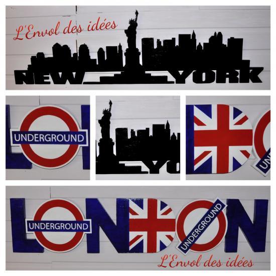 New york london montage