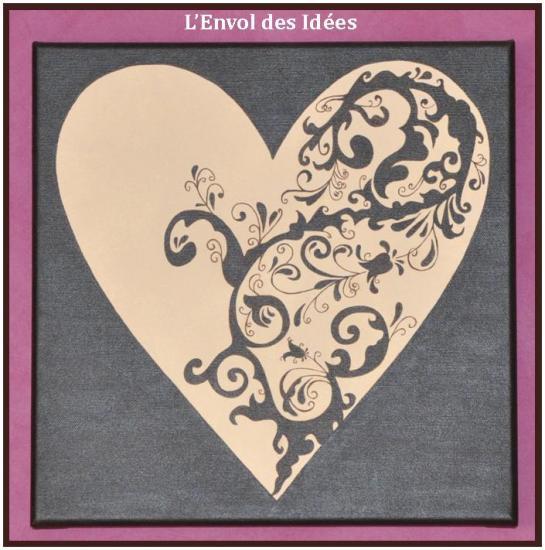 Triptyque coeur détail 1